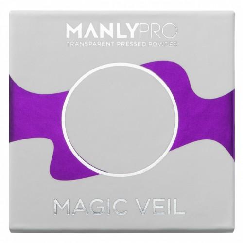 Прозрачная матирующая компактная пудра Manly PRO