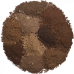 Палитра теней для бровей 10 оттенков Manly PRO