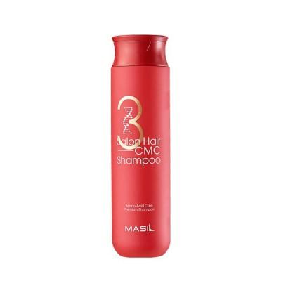 Восстанавливающий шампунь с аминокислотами Masil 3 Salon Hair, 300 мл.