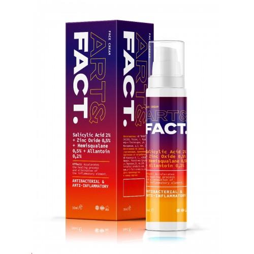 Крем для проблемной кожи и точечного действия ART&FACT (Salicylic Acid 2% + Zinc Oxide 0,5%)