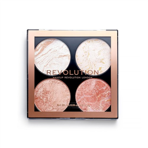 Палетка для макияжа Revolution Makeup 4 в 1 Cheek Kit, Take A Breather